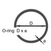 Уплотнительное кольцо O-ring  (Φ23.6*1.8) (6 шт.)