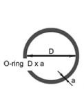 Комплект уплотнительных колец для CNC
